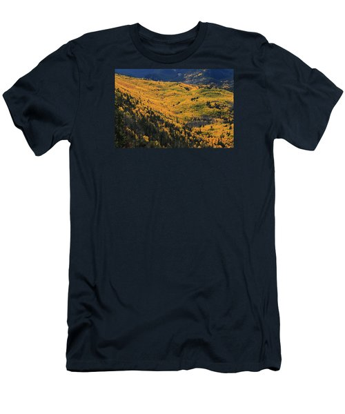 Men's T-Shirt (Slim Fit) featuring the photograph Lockett Meadow Shines by Tom Kelly