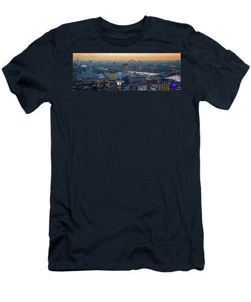 London At Sunset Men's T-Shirt (Athletic Fit)