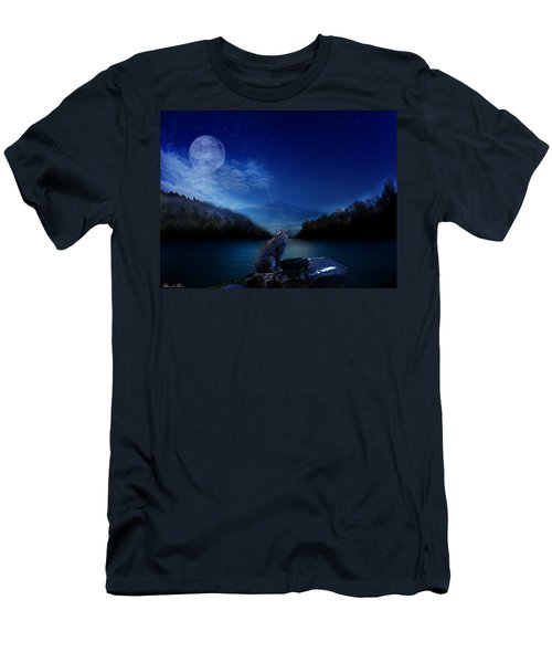 Lonely Hunter Men's T-Shirt (Athletic Fit)
