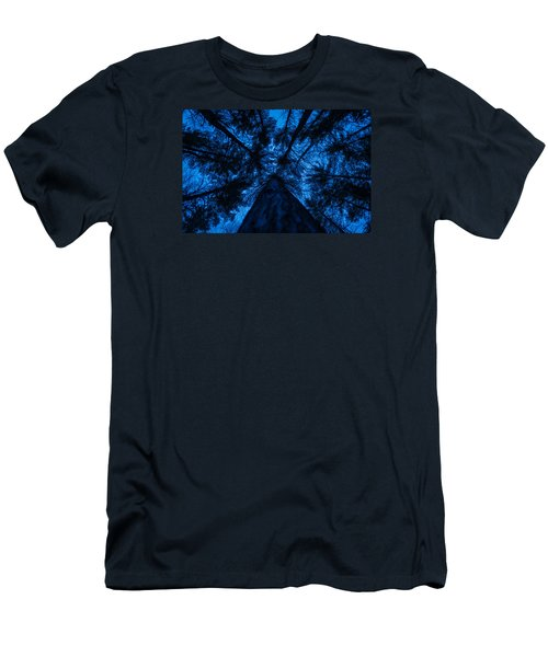 Looking Up Men's T-Shirt (Athletic Fit)