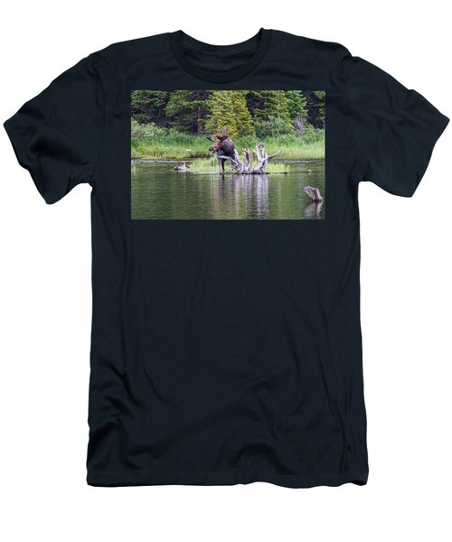 Loose Moose Men's T-Shirt (Athletic Fit)