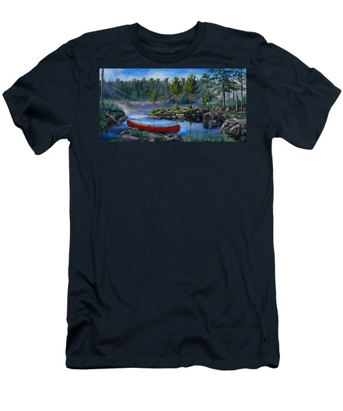 Lost In The Boundary Waters Men's T-Shirt (Athletic Fit)