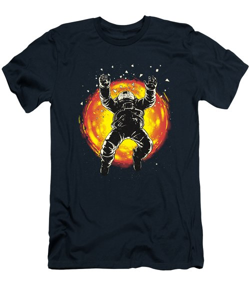 Lost In The Space Men's T-Shirt (Slim Fit) by Carbine