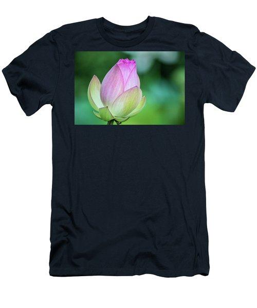 Lotus Bud Men's T-Shirt (Athletic Fit)