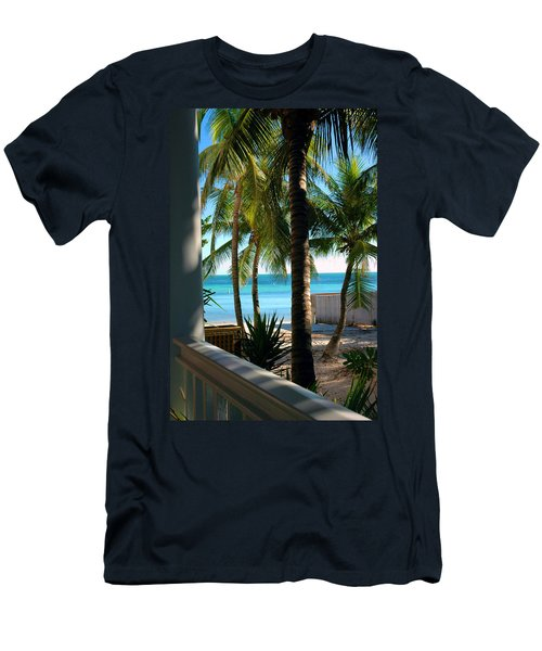 Louie's Backyard Men's T-Shirt (Athletic Fit)