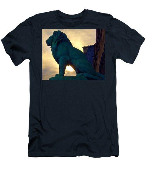 Louve Lion Men's T-Shirt (Athletic Fit)