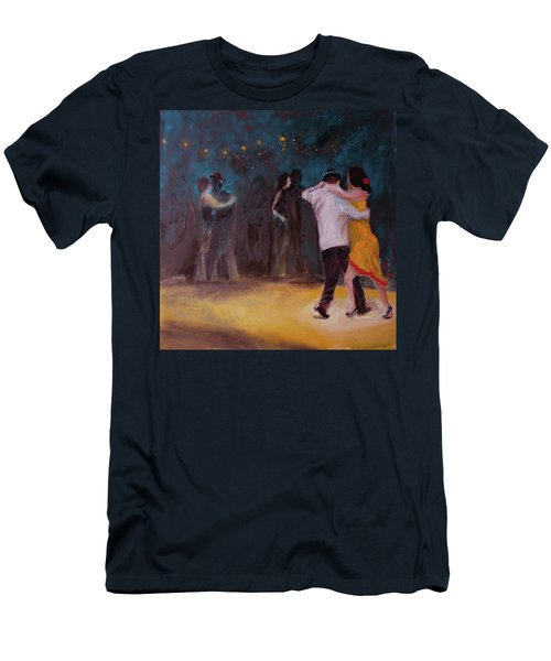 Love In The Spotlight Men's T-Shirt (Athletic Fit)