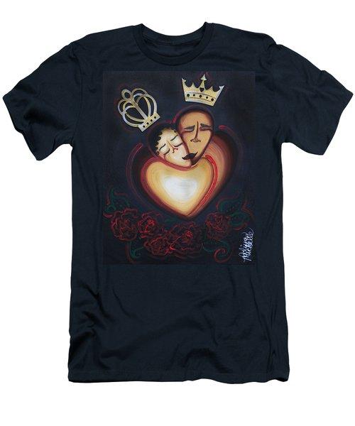 Lovers Embrace Men's T-Shirt (Athletic Fit)