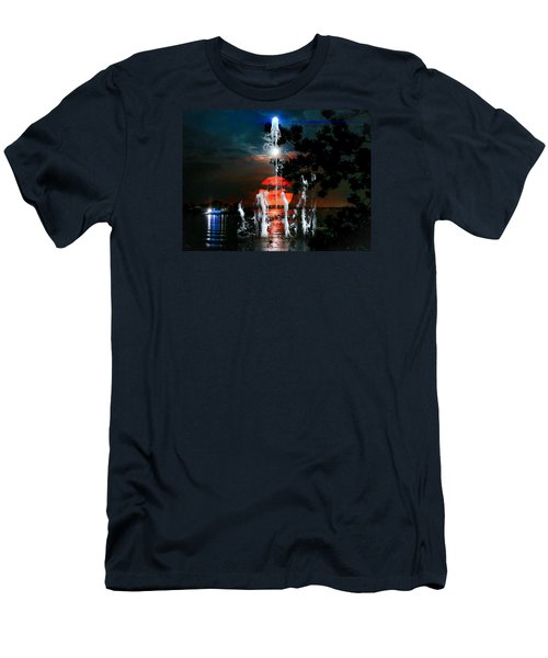 Lunar Event Horizon Men's T-Shirt (Athletic Fit)