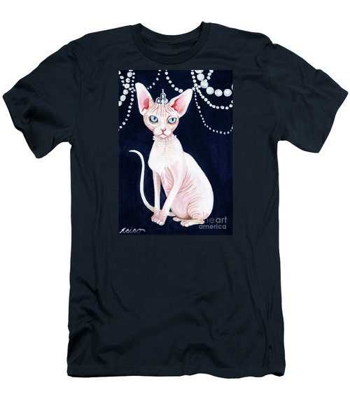 Luxurious Sphynx Men's T-Shirt (Athletic Fit)