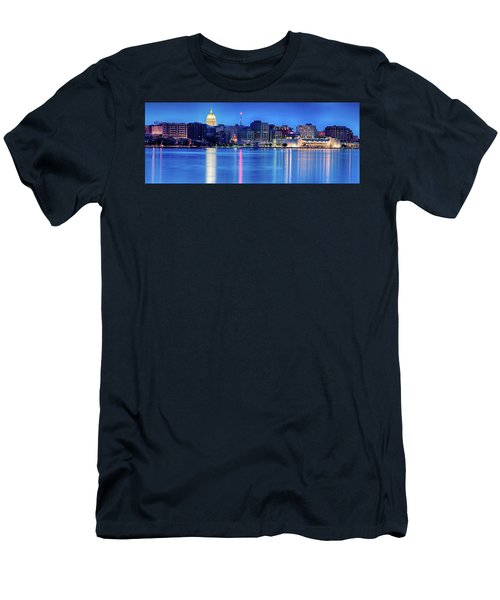 Madison Skyline Reflection Men's T-Shirt (Athletic Fit)