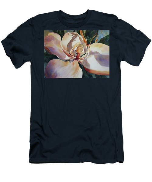 Magnolia, Golden Glow Men's T-Shirt (Athletic Fit)