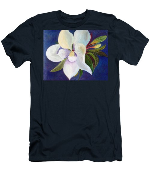 Magnolia Painting Men's T-Shirt (Athletic Fit)