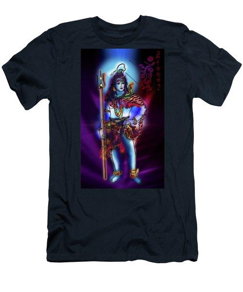 Maheshvara Sadashiva Men's T-Shirt (Athletic Fit)