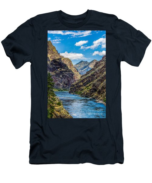 Majestic Hells Canyon Idaho Landscape By Kaylyn Franks Men's T-Shirt (Athletic Fit)