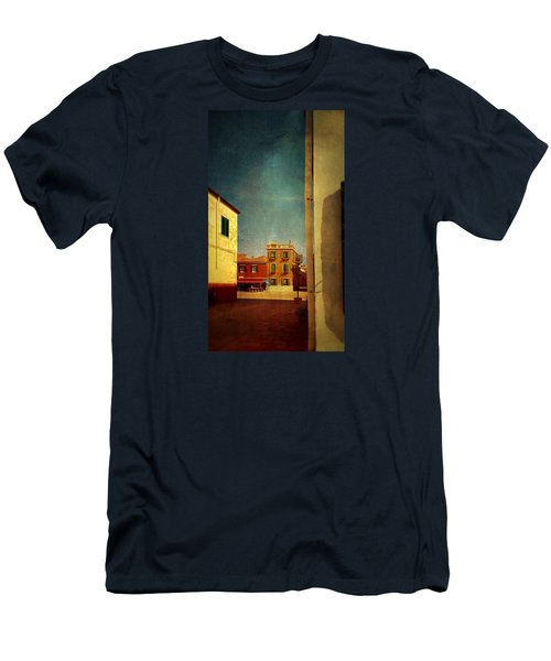Men's T-Shirt (Slim Fit) featuring the photograph Malamocco Glimpse No1 by Anne Kotan