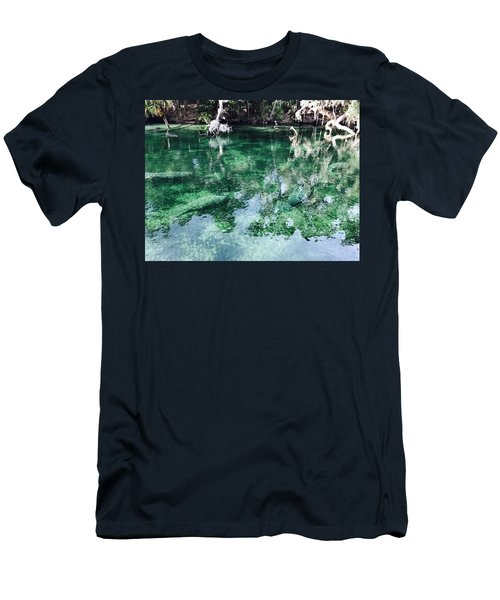 Manatees Men's T-Shirt (Athletic Fit)