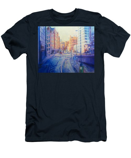 Manchester Light And Shade Men's T-Shirt (Athletic Fit)