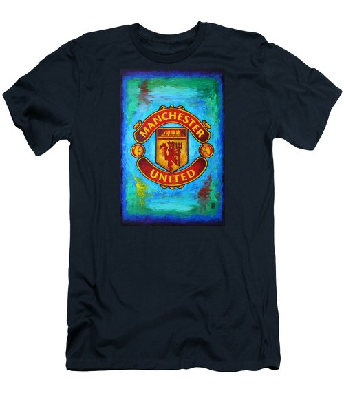 Manchester United Vintage Men's T-Shirt (Athletic Fit)