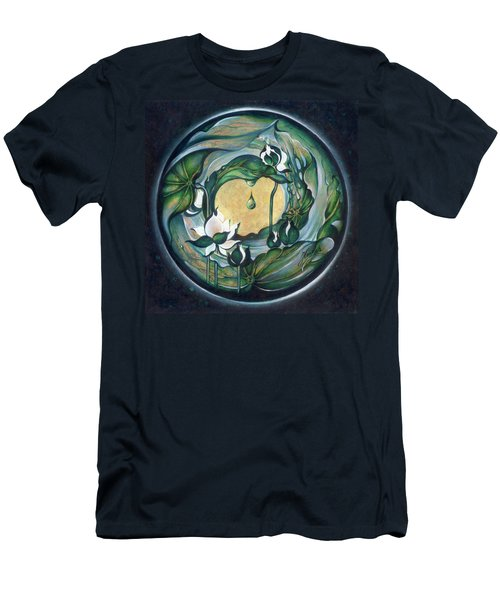 Mandala Of Regeneration Men's T-Shirt (Athletic Fit)