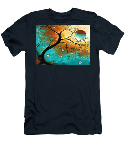 Many Moons Ago By Madart Men's T-Shirt (Athletic Fit)