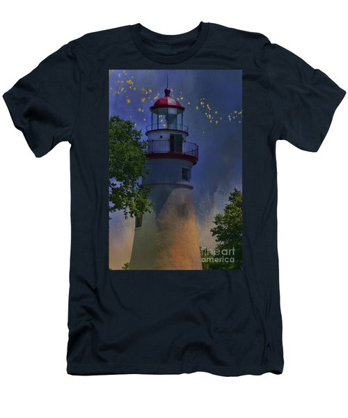 Marblehead In Starlight Men's T-Shirt (Athletic Fit)