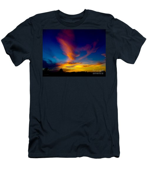 Sunset March 31, 2018 Men's T-Shirt (Athletic Fit)