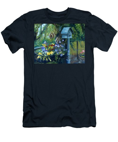 Marcia's Garden Men's T-Shirt (Athletic Fit)