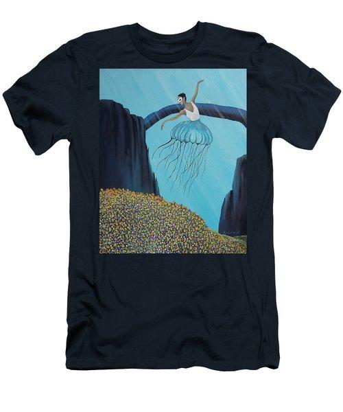 Mare Ballerina Men's T-Shirt (Slim Fit) by Edwin Alverio