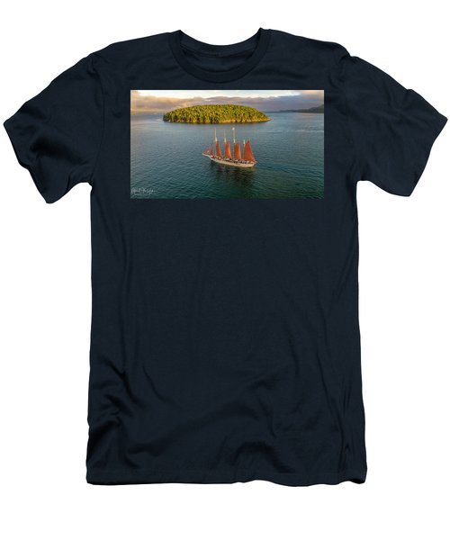 Margaret Todd Schooner Men's T-Shirt (Athletic Fit)