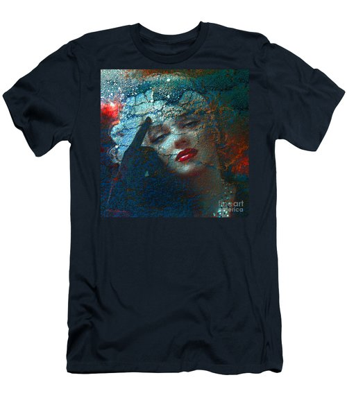 Marilyn Str. 1 Men's T-Shirt (Athletic Fit)