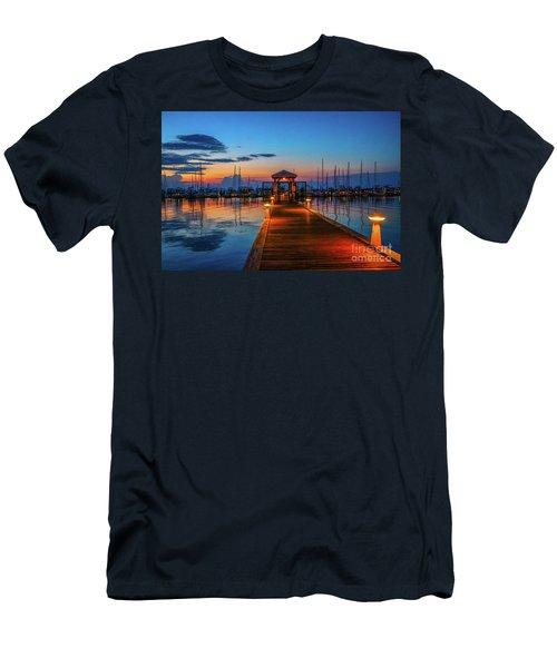 Marina Sunrise Men's T-Shirt (Athletic Fit)