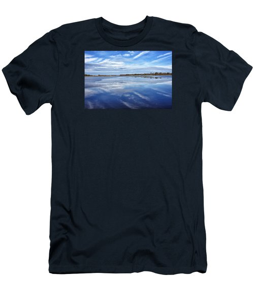 Men's T-Shirt (Slim Fit) featuring the photograph Maryland - Blackwater National Wildlife Refuge by Brendan Reals
