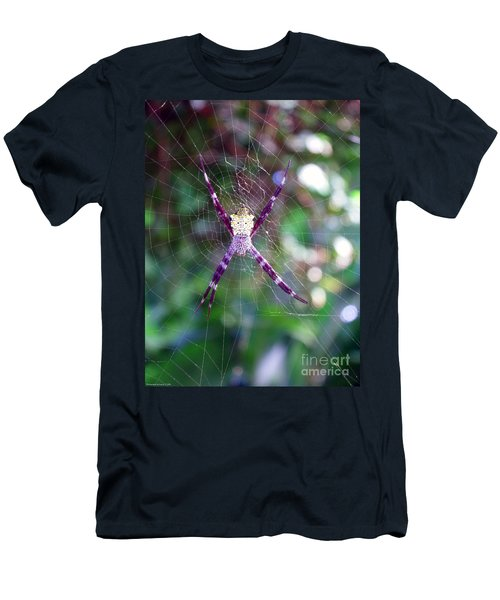 Maui Orbweaver/garden Spider Men's T-Shirt (Athletic Fit)