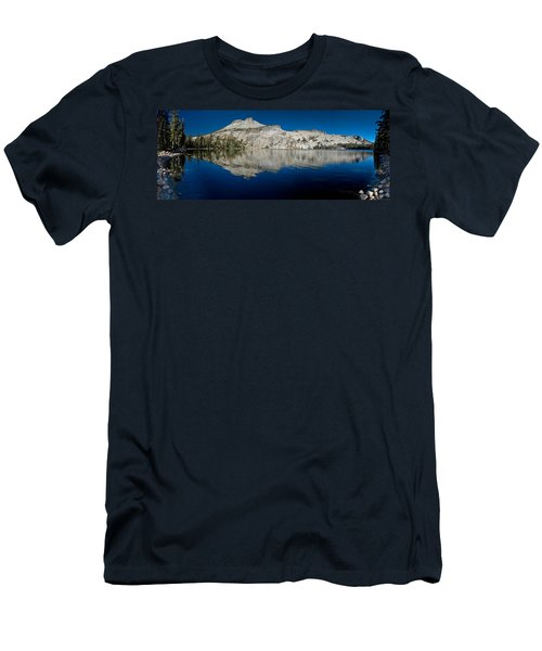May Lake Panorama Men's T-Shirt (Athletic Fit)