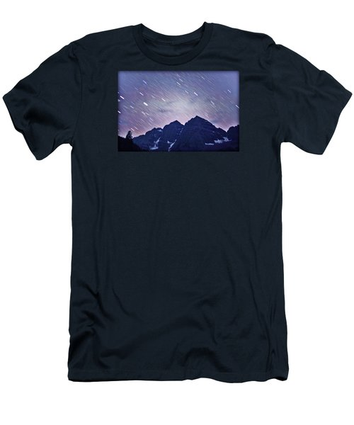 Mb Star Showers Men's T-Shirt (Slim Fit) by Matt Helm
