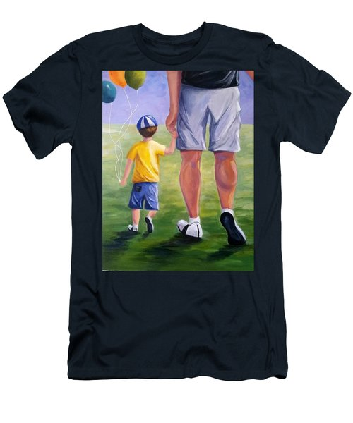 Me And My Dad Men's T-Shirt (Athletic Fit)