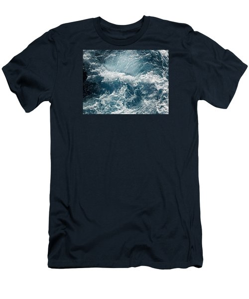 Mediterranean Sea Art 53 Men's T-Shirt (Athletic Fit)