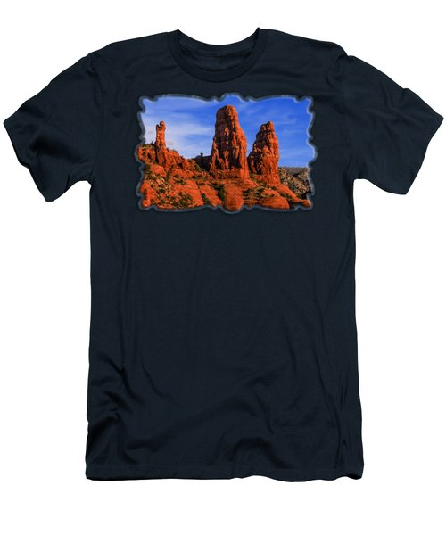 Megalithic Red Rocks Men's T-Shirt (Athletic Fit)