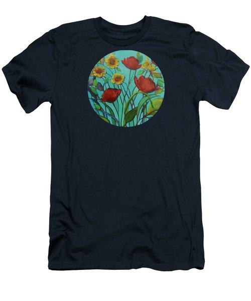 Memories Of The Meadow Men's T-Shirt (Slim Fit)