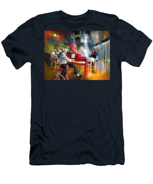Memphis Nights 04 Men's T-Shirt (Athletic Fit)