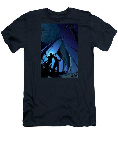 Men At Work Men's T-Shirt (Athletic Fit)