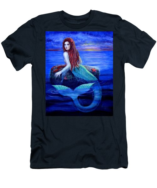 Mermaid's Dinner Men's T-Shirt (Athletic Fit)