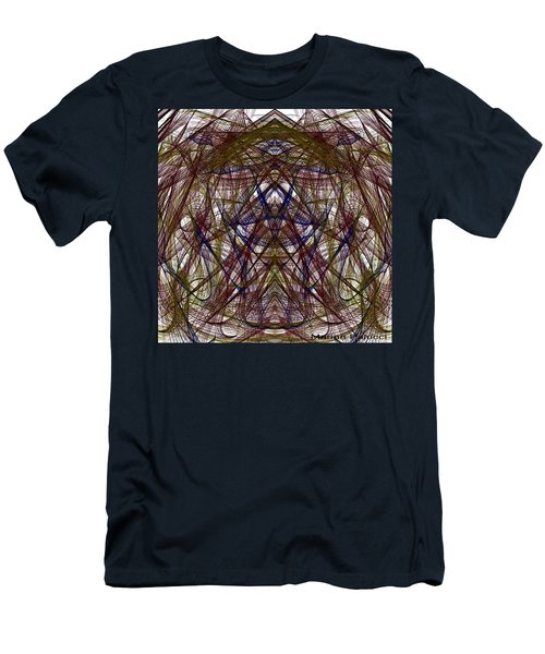 Mesmerizing Spirit Abstract Men's T-Shirt (Athletic Fit)