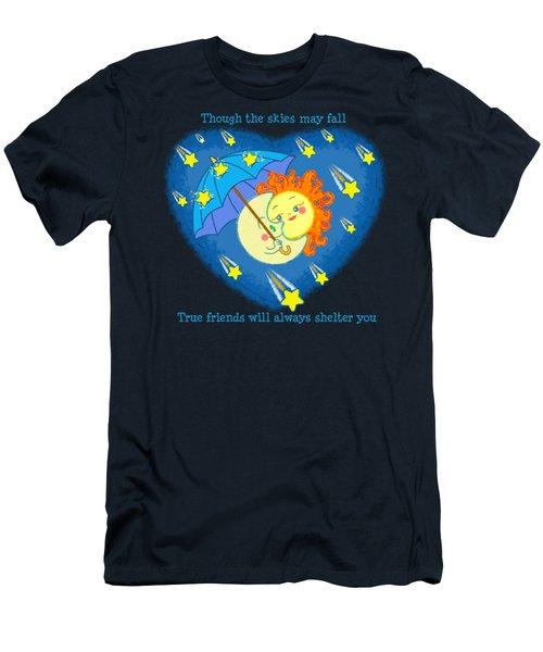 Meteor Shower 3 Men's T-Shirt (Slim Fit) by J L Meadows