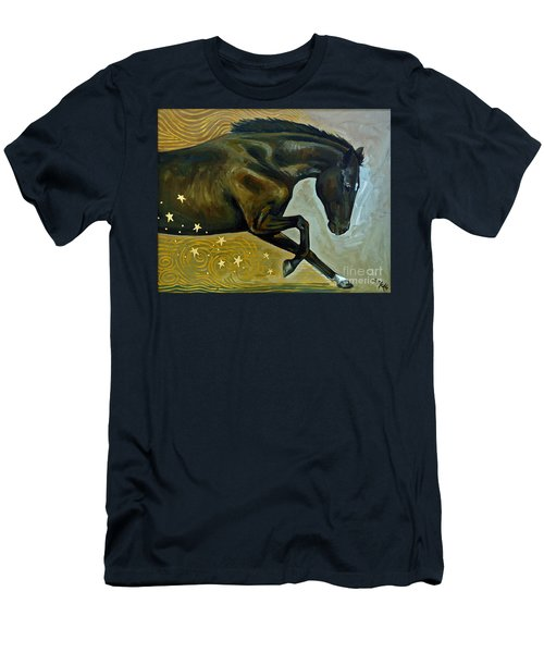 Meteor Shower Men's T-Shirt (Athletic Fit)