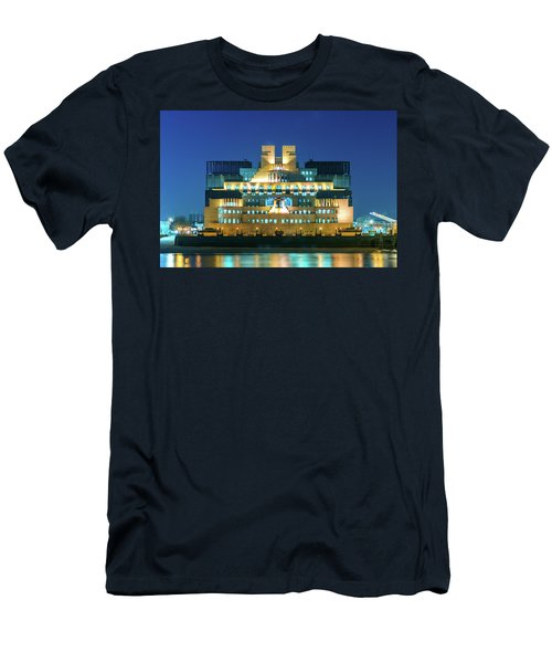 Men's T-Shirt (Athletic Fit) featuring the photograph Mi6 by Stewart Marsden