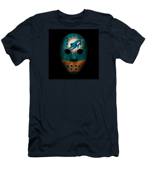 Miami Dolphins War Mask 3 Men's T-Shirt (Athletic Fit)