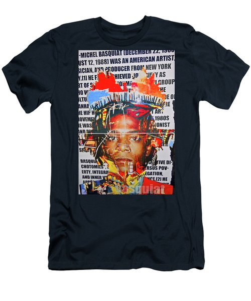 Michel Basquiat Men's T-Shirt (Athletic Fit)