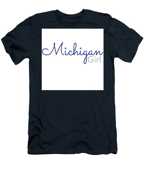 Michigan Girl Men's T-Shirt (Athletic Fit)